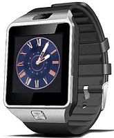 Часы Smart Watch DZ09 black/silver Gsm/Bluetooth/камера, фото 1