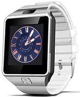 Часы Smart Watch DZ09 white Gsm/Bluetooth/камера, фото 1