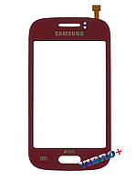 Тачскрин (сенсор) Samsung S6310, red (красный)