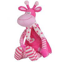 Мягкая игрушка BabyOno Розовый жираф 53 см (1194)