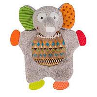 Мягкая игрушка BabyOno Забавный слоненок 19 см (1241)
