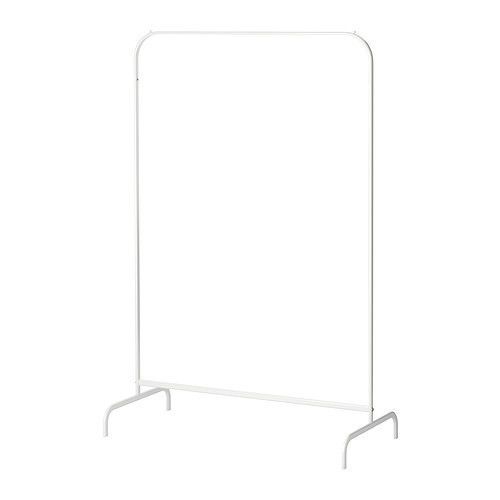 МУЛИГ Напольная вешалка, белый, 60179434, IKEA, ИКЕА, MULIG