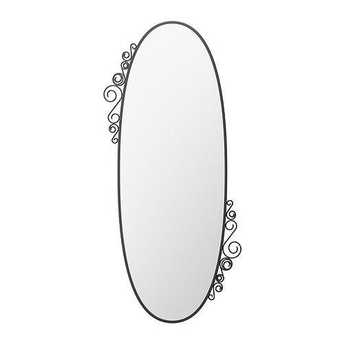 ЭКНЕ Зеркало, овал, 30193139, IKEA, ИКЕА, EKNE