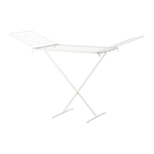 МУЛИГ Сушилка для белья, белый, 50228755, IKEA, ИКЕА, MULIG