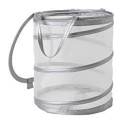 ФИЛЛЕН Корзина для белья, серебряный, 80099224, IKEA, ИКЕА, FYLLEN
