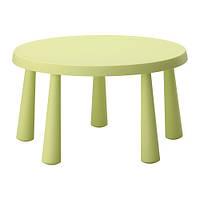 МАММУТ Стол детский, светло-зеленый, 00267570, IKEA, ИКЕА, MAMMUT
