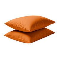 ДВАЛА Наволочка на подушку, оранжевая, 30289636, IKEA, ИКЕА, DVALA