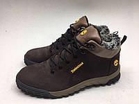 Мужские ботинки Timberland коричнево-бежевые