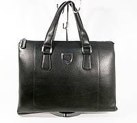 Сумка мужская для документов, портфель, папка Philipp Plein 8909-3 черная, 40*30*8 см