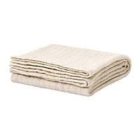ГУРЛИ, Плед, бело-бежевый, 120x80 см,  90204903, ИКЕА, IKEA, GURLI,