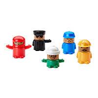 ЛИЛЛАБУ Игрушечные фигурки, 5 шт., 60242614, ИКЕА, IKEA, LILLABO