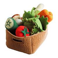 ДУКТИГ Набор овощей, 14 шт., 10185748, ИКЕА, IKEA, DUKTIG