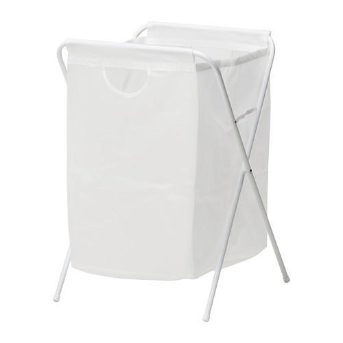 ЭЛЛЬ Мешок для белья на опоре, белый, 70118968, ИКЕА, IKEA, JALL