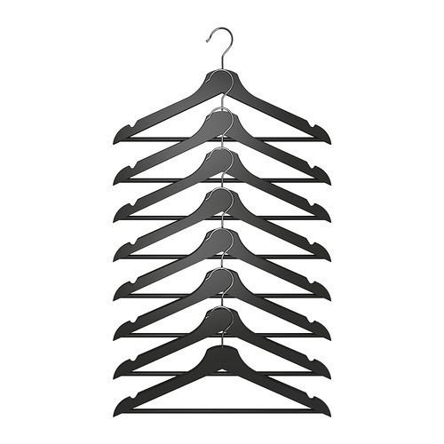 БУМЕРАНГ Плечики, черный, 20238534, ИКЕА, IKEA, BUMERANG