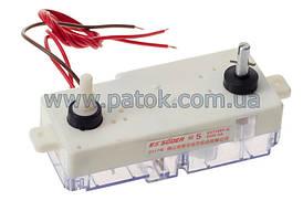 Таймер двойной для стиральной машины полуавтомат, 3 провода