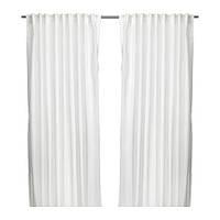 ВИВАН Гардины, 1 пара, белый, 145x300 см, 20297571, ИКЕА, IKEA, VIVAN