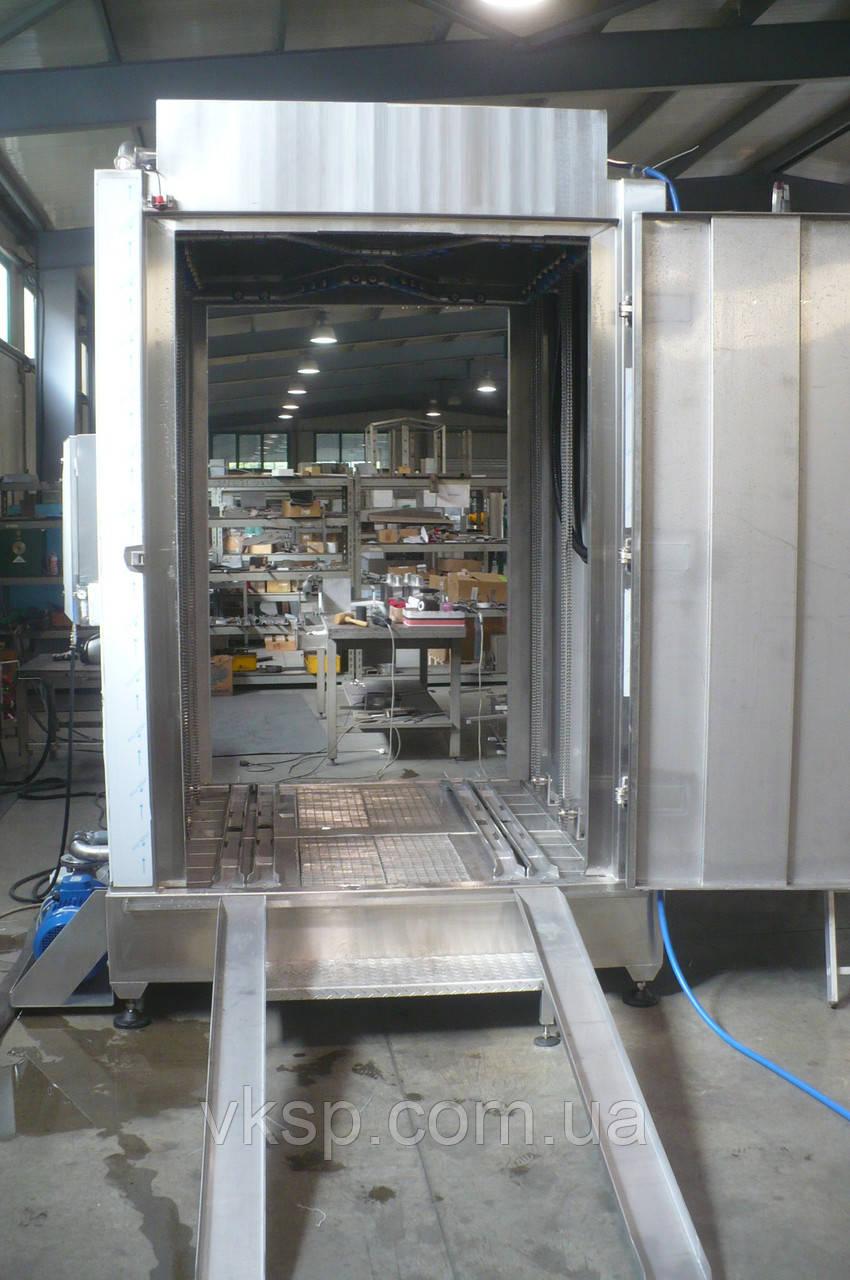 Машина для мойки коптильных рам проходного типа - Cпектрум ГМБХ в Киеве