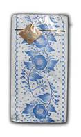 Салфетки бумажные праздничные (ЗЗхЗЗ, 10шт) Luxy MINI Цветочный ажур 2003 (1 пач)
