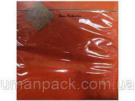 Салфетки бумажные красивые (ЗЗхЗЗ, 20шт) Luxy Оранжевый (3-9) (1 пач)