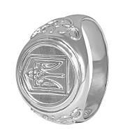 """Мужское серебряное кольцо с гербом """"385"""""""