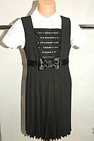 Сарафан на девочку 122-140 р школьный черный Польша., фото 1