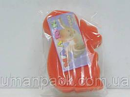 Мочалка поролонова Дитяча (1 пач) заходь на сайт Уманьпак