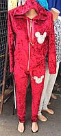Женский велюровый костюм микки маус размеры 42-46