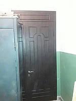 Двери входные с фрамугой Балкар-Днепр
