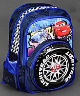 Школьный рюкзак 1, 2 класс + Пенал Тачки для мальчиков. Портфель ранец ортопедический для школы