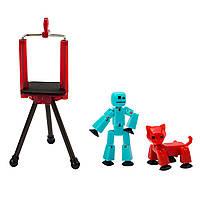 Игровой набор для анимационного творчества STIKBOT S2 PETS СТУДИЯ 2 экскл. фигурки, штатив(TST615А)