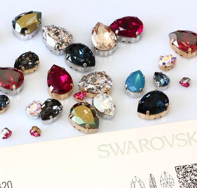 Оригинальные камни Swarovski в цапах