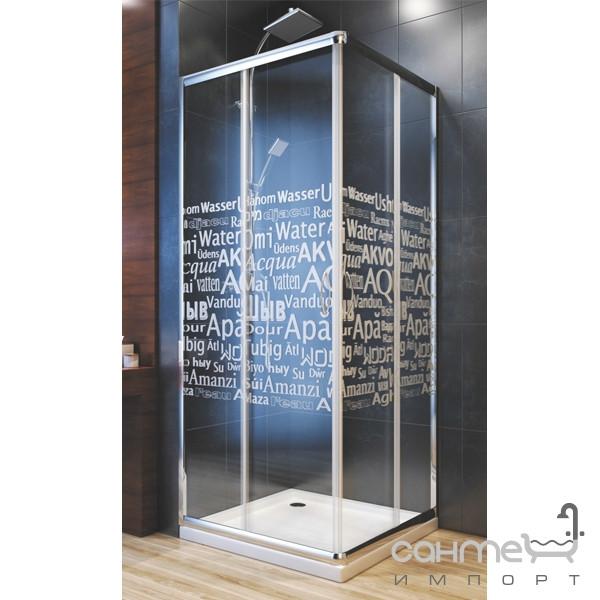 Душевые кабины, двери и шторки для ванн Aquaform Душевая кабина Aquaform Nigra Aqua под низкий поддон 101-40070