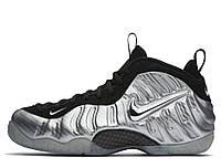 """Оригинальные мужские кроссовки для баскетбола Nike Air Foamposite Pro """"Silver Surfer"""""""