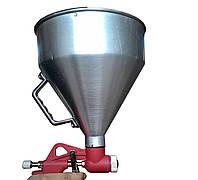 PT-0401 Штукатурный распылитель, три форсунки 4;6;8мм, В/Б металлический, 6000мл, 3-6b INTERTOOL