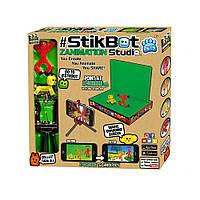 Игровой набор для анимационного творчества STIKBOT S2 PETS СТУДИЯ Z-SCREEN 2 фиг., штатив, сцена(TST617A)