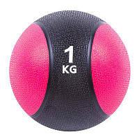 Мяч медицинский (медбол) 1 кг (диаметр: 19 см)