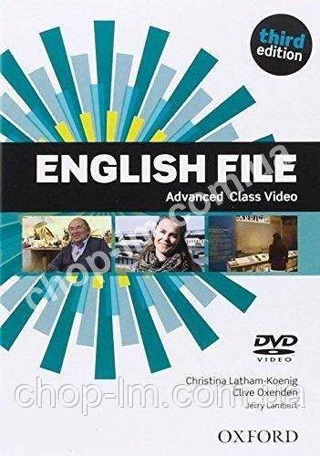English File Third Edition Advanced Class DVD / Видео диск к курсу