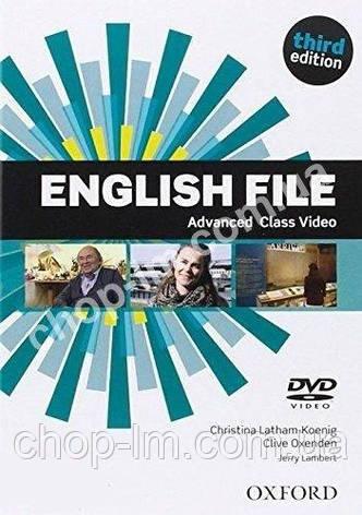 English File Third Edition Advanced Class DVD / Видео диск к курсу, фото 2