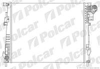 Радиатор охлаждения двигателя Рено Трафик 2.0dCi (-/+AC) POLCAR (Польша) 6027081