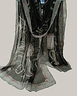 Палантин S брендовый 100% шелк Versace  70х180см, цв. 1
