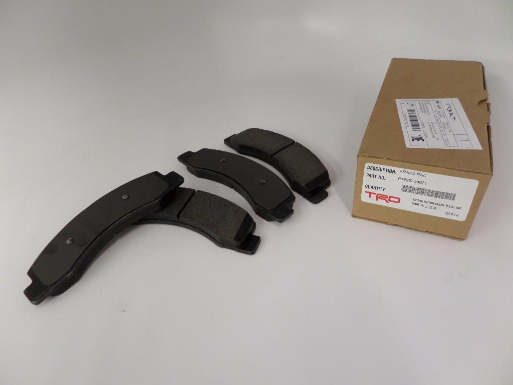 Колодки тормозные передниеTRD для BBK LC 200 / LX 570