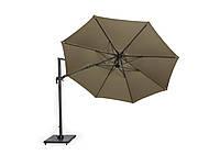 Зонт Солар Ту2 диаметр 3,5м бежевый, вращающийся купол