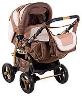 Детская коляска трансформер «Young» Adamex 621142, капучино