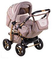 Детская коляска трансформер «Young» Adamex 621141, капучино