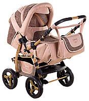 Детская коляска трансформер «Young» Adamex 621147, капучино