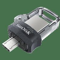 Флешка USB SanDisk 64GB 3.0 Ultra Dual Drive m3.0 OTG