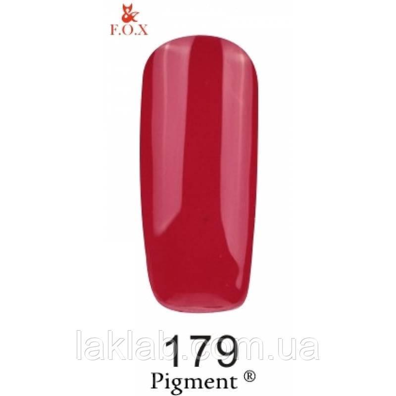 Гель лак (Pigment) F.O.X. №179,6 мл