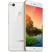 Смартфон ZTE Nubia Z11 6/64Гб White/Gold + стекло