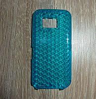 Чехол накладка Nokia 5530 синий