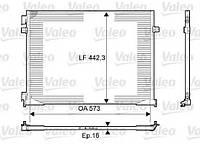 Радиатор кондиционера Рено Трафик 2.0dCi Valeo (Франция) 814172